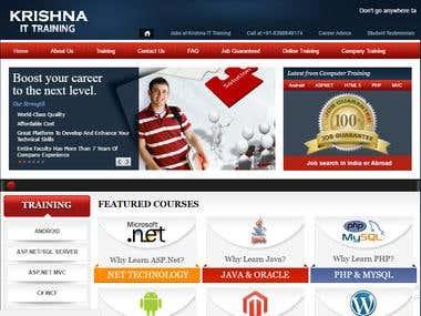 Online IT Training Courses Site