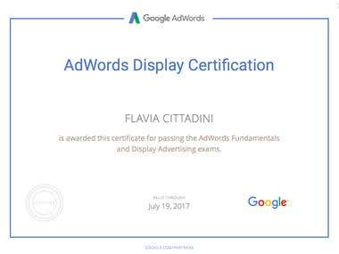 Google AdWords Display Certification (GDN)