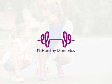 Logo Design for Fit Health Mommies