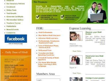 Online Hindi Courses Site