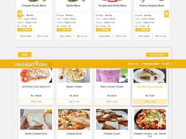 Mealskart - Online Food Delivery Service In India