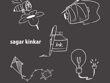 UI icons/ doodles