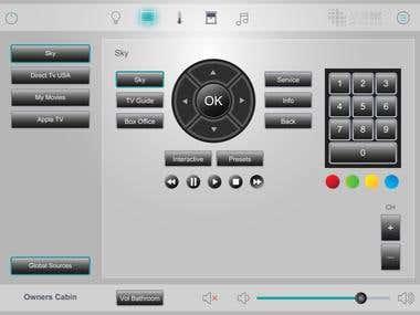 AVS Azure Home Control App