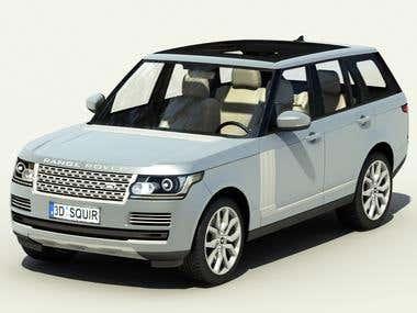 3D car Model