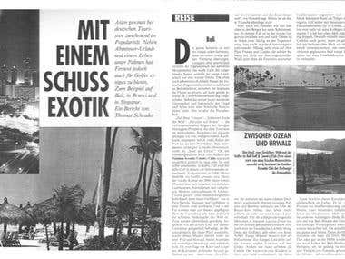 Article for Special Interest Magazin