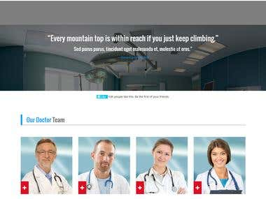 Madicare HTML Template Design