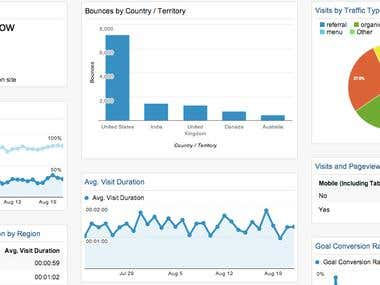 SEO -  Google Analytics Report