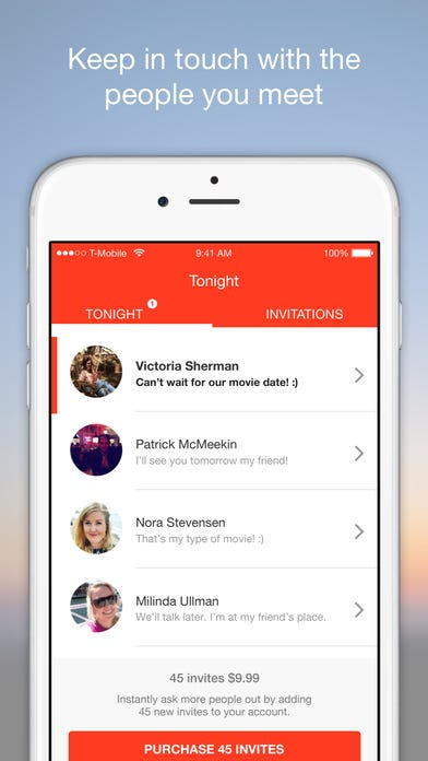 iPhone Instant dating app tio gammaldags dating vanor vi bör ta tillbaka