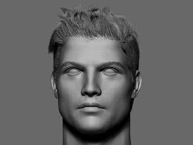 cr7 likeness model