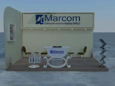 marcom stand design