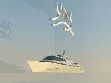 crystal ship model
