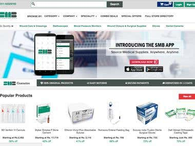 Smart Medical Buyer - Website
