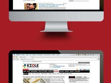 Kzole(News Website )