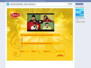 Lipton 4 Pae Quiz