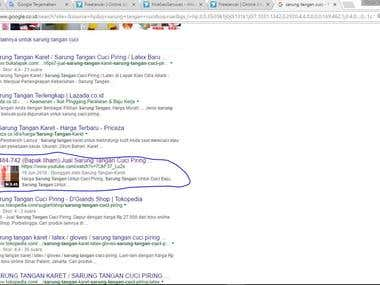 #1 Page on Google !!