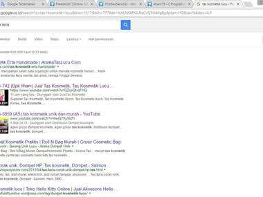 #2 Page on Google