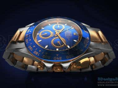 Watch Rolex 3d Visualization Training