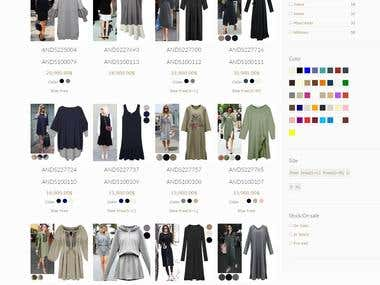 Wordpress Fashion Shop