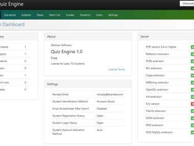 Online Quiz Portal