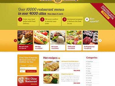 Restaurant Order Website