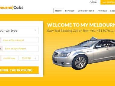 MyMelbourne Cabs Onine Taxi Booking Service