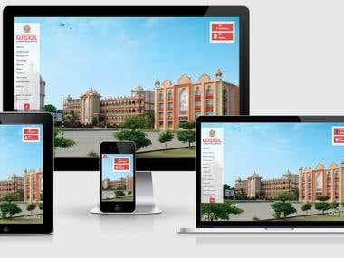 Gurukul - School Website