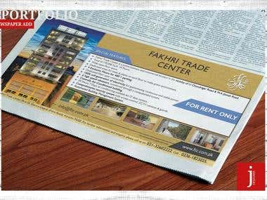 NEWS PAPER ADD