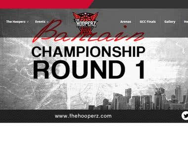 TheHooperz BasketBall Website
