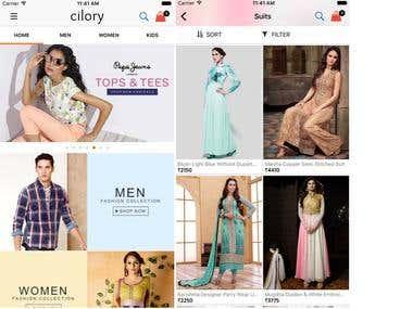 IOS Online Shopping App