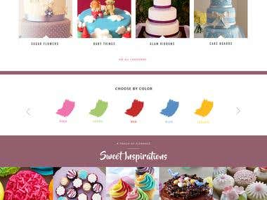 Design Proposal for Cake Making Company