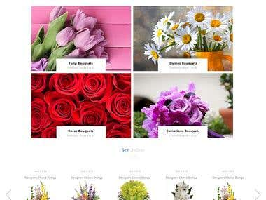 Design Proposal for Flower Delivery COmpany