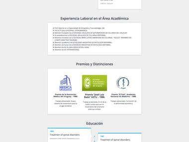 CV Portfolio OnePage