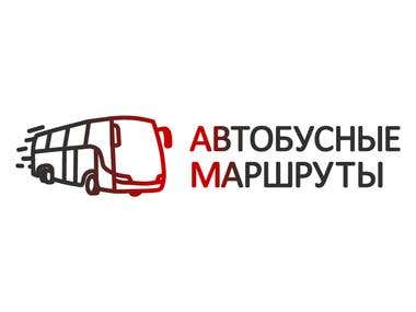 Site and logo for Bus Routes