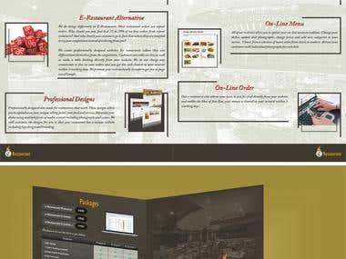 ER, Package Brochure Design