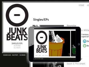 Junkbeats Website