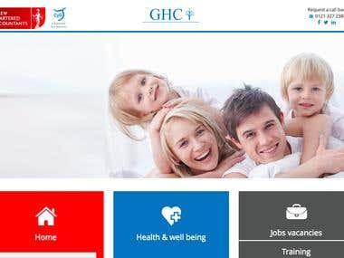 GHC Wordpress Responsive Website design and Development