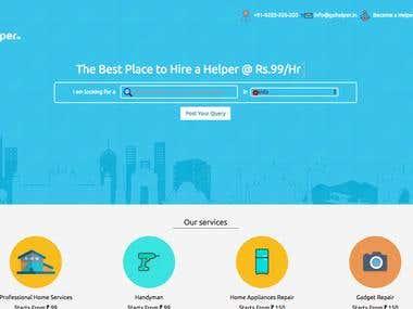 Go Helper- Hyper local Service Marketplace