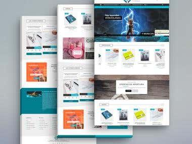 Aceacisclo (My Webpage/OnlineStore/Portfolio)
