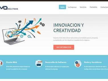 Sitio Web MQsolucion
