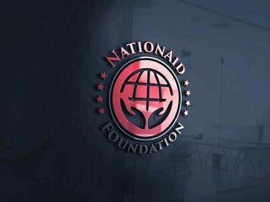 NationAid Foundation Logo Design