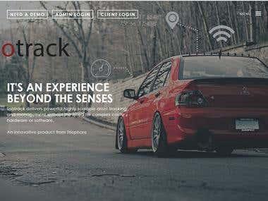 Triotrack web page