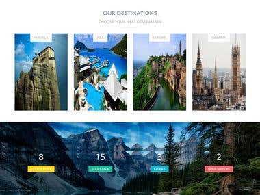 Build  a Travel packages compare website