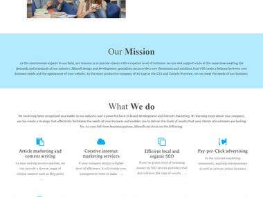 Build a Software Website