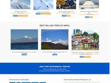 Go2Trek - Trekking Website