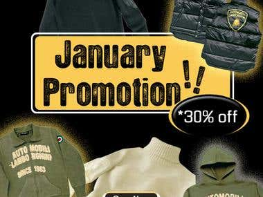Lamborghini January Promotion