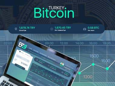 Bitcoin Turkey UI UX Design