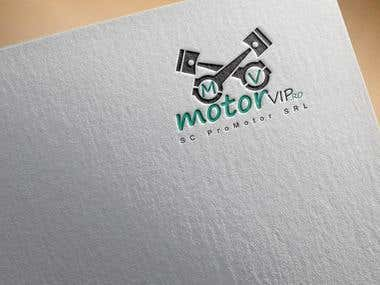 Logo Design for Motor Bike's Repair Shop