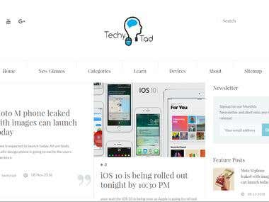 TechyTad | A technical blogging platform