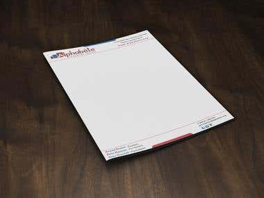 Letterhead or Stationary Design