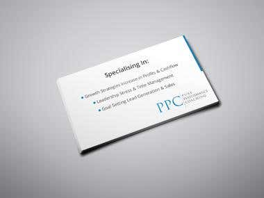 Clean & creative Professional Business Card Design